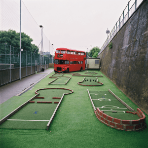 Crazy Golf Bus
