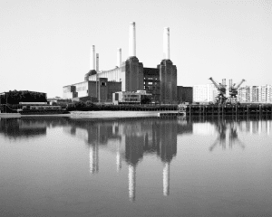 Battersea Power Station B&W