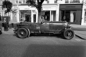 Classic Parked Car