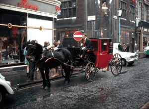 Vintage Soho Horse and Carriage