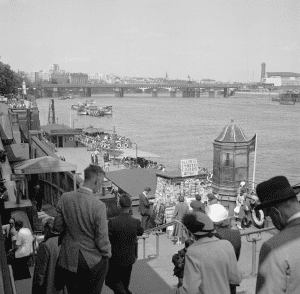 Vintage Thames Embankment